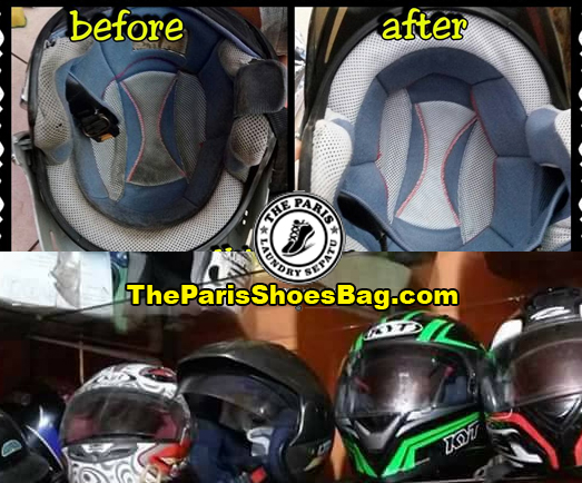 Jasa Cuci Helm di Medan