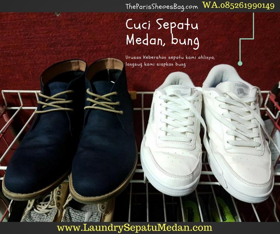 Tempat Cuci Sepatu di Medan