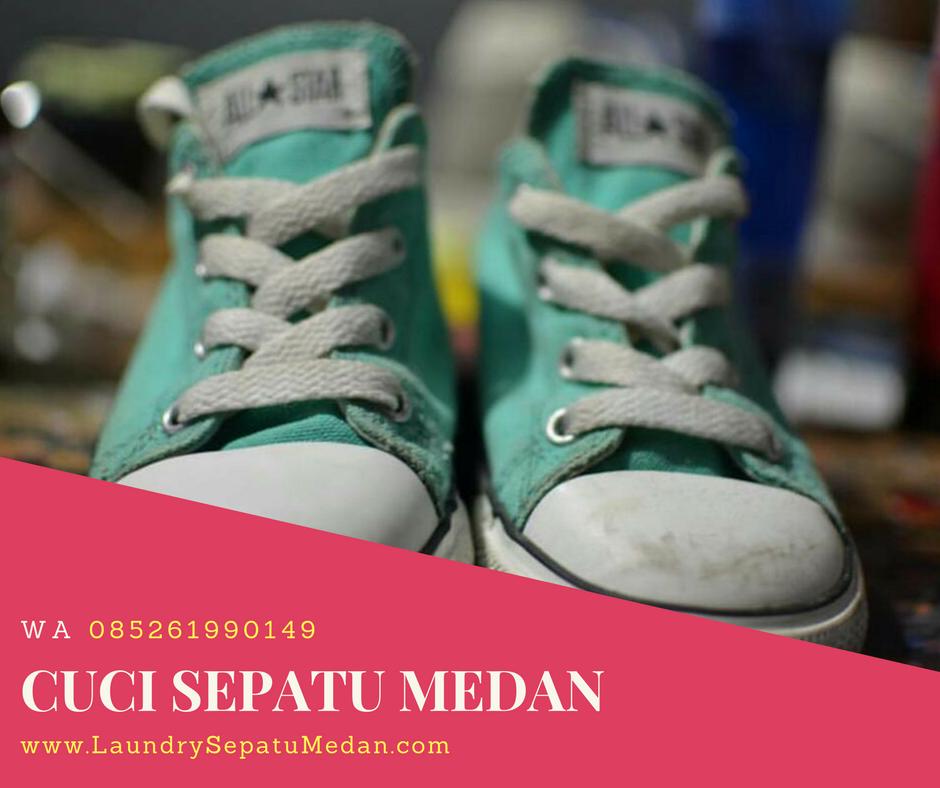 Laundry Sepatu Murah di Medan